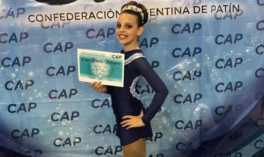 Lola Ramírez, sub campeona nacional de Patín en Chubut