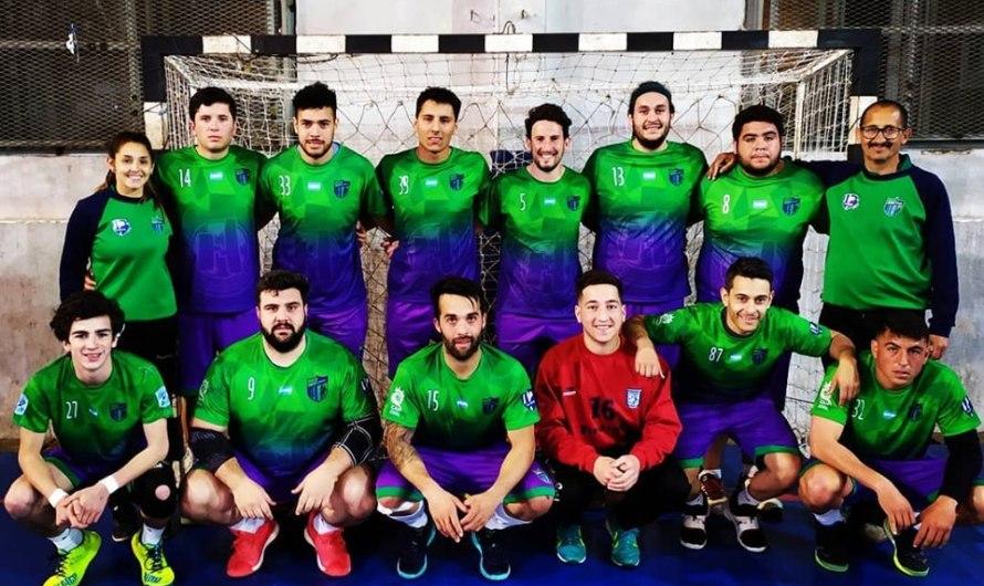 Kesseler y Saion participaron en el Nacional de handball