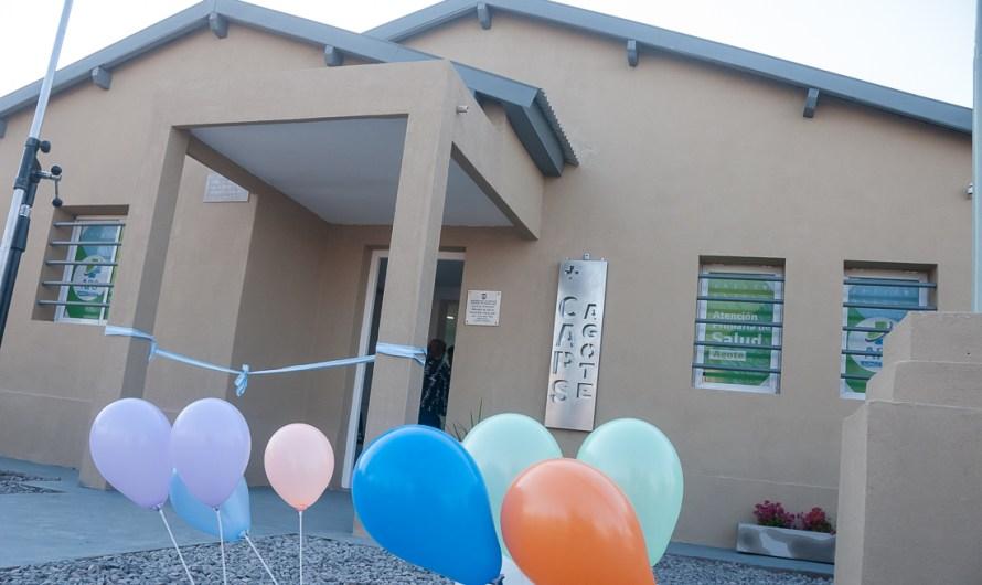 Inauguran obras de ampliación edificia y de atenciones médicas en CAPS Agote