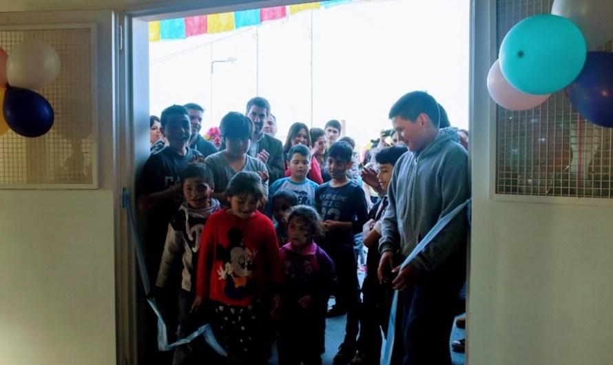 Ustarroz junto a los vecinos inauguró el 6° Jardín Espacio Primera Infancia