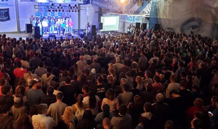 Gran asistencia en cierre de campaña del Frente de Todos en Mercedes