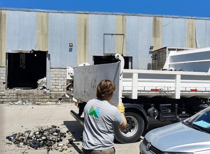 Depatamento de ambiente continúa enviando materiales a reciclar