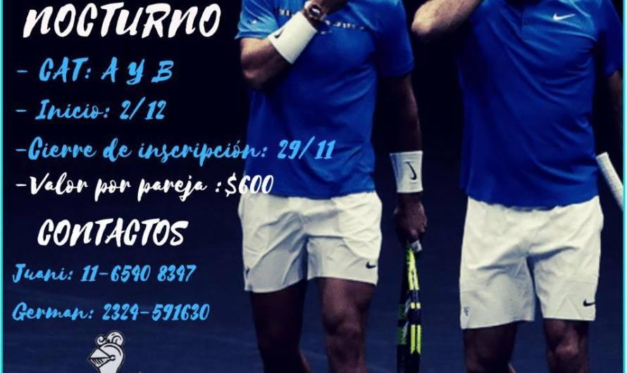 Invitan a participar de un torneo de tenis en Club Mercedes