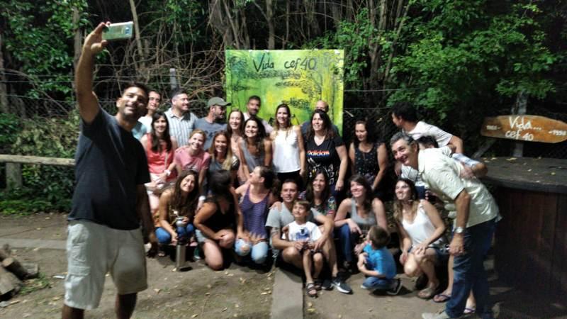Reencuentro en el CEF N° 40 con alumnos de Vida En La Naturaleza