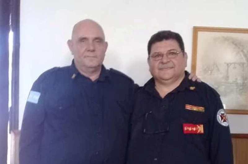 Mario Quaglia asumió la Jefatura del cuerpo de Bomberos Voluntarios