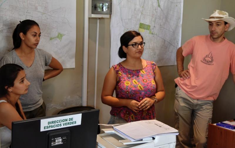Avanza el censo del arbolado público de UNLu y Municipio