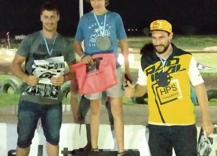 Nocturno de Motocross en Bragado: Juan Pablo Pira, cerca de una victoria