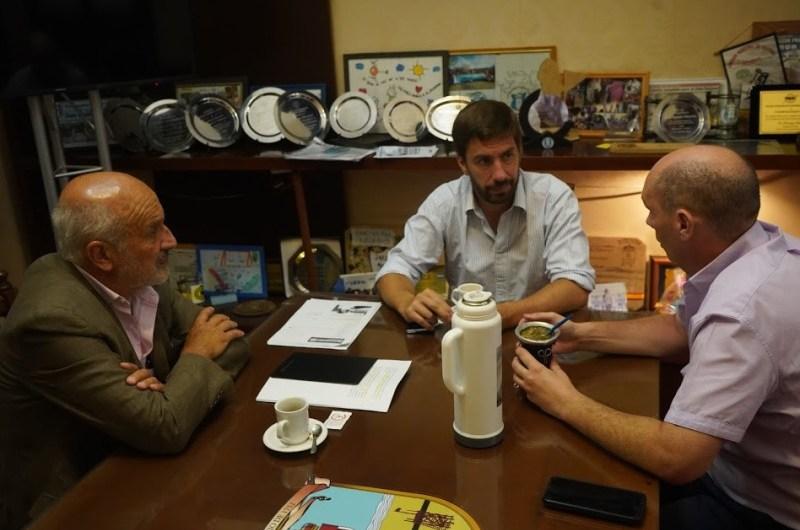Reunión entre Municipio y UNLu