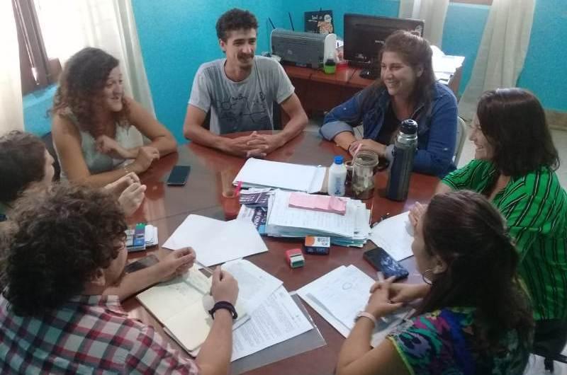 Encuentro de trabajo entre Fundación Huésped y Desarrollo Social