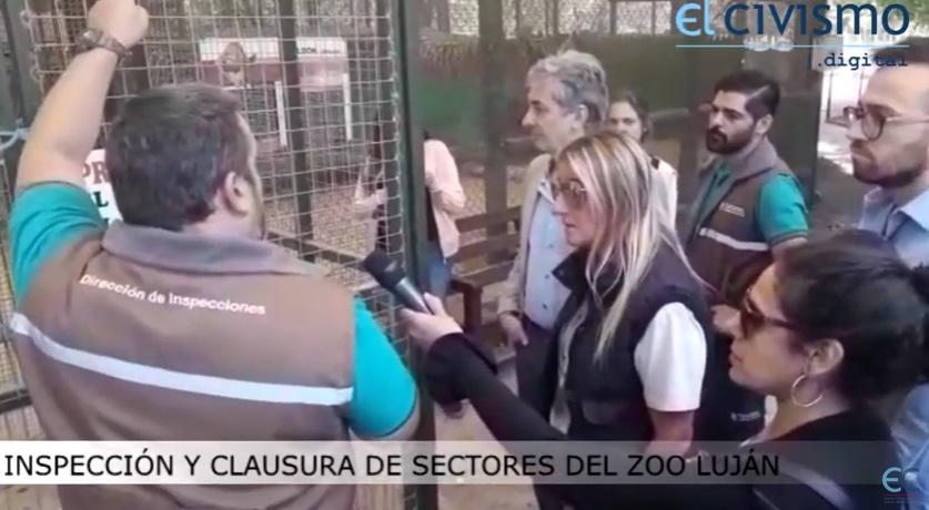 Clausuran sectores del Zoo Luján