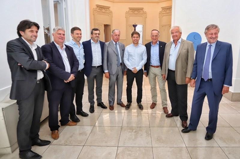 Provincia se reunió con representantes de la UIA