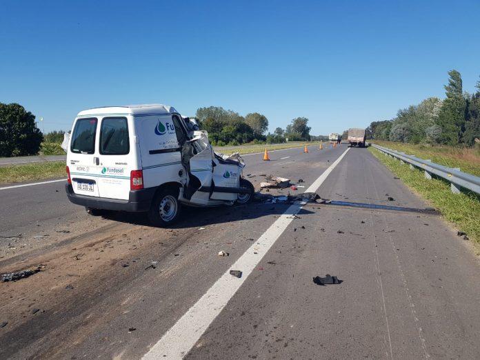 Ruta 7: un fallecido en siniestro vial entre S.A. de Giles y C. de Areco