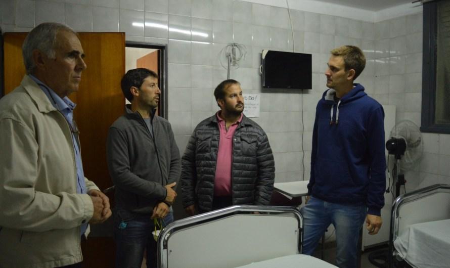 Medicamentos, barbijos y mamelucos algunos de los elementos donados por la SRRM al Hospital