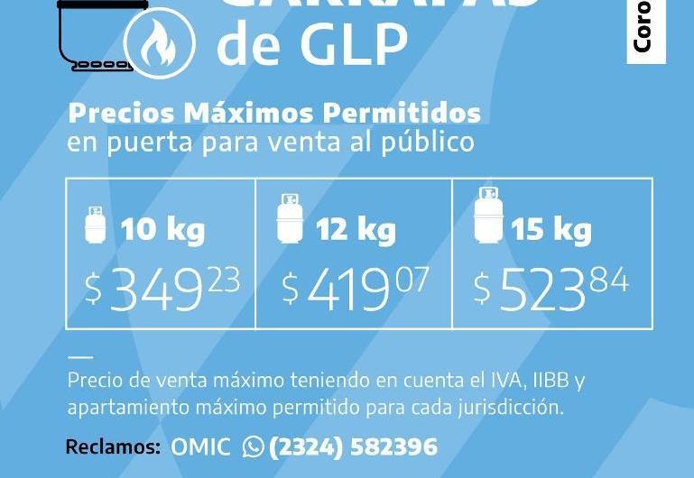 Controlan precios máximos de gas envasado