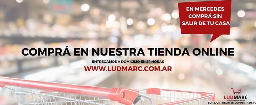 Distribuidora LUDMARC para que hagas tus compras desde tu casa
