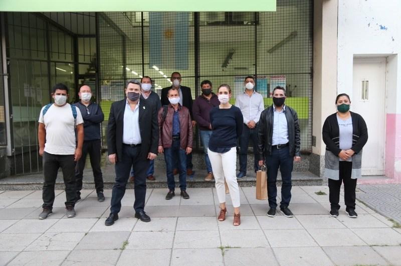 Ministra de Trabajo Bonaerense se reunió con los sindicatos de la ciudad