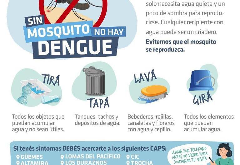 Refuerzan campaña contra el dengue