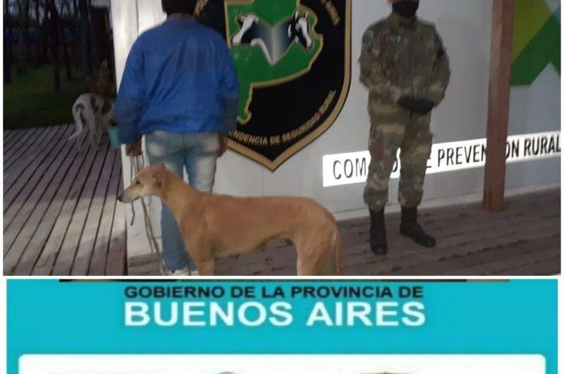 Policía Rural detiene cazadores furtivos en La Florida
