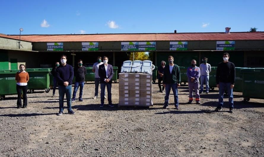 Ustarroz recibió al ministro Cabandié, firmaron convenio y aportes para seguir trabajando en temas ambientales