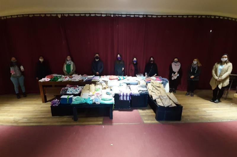 Donación de ropa de bebé para Mil Días y EPIs