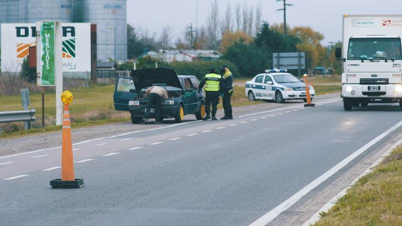 Operativos de control y seguridad vial en las ruta 5