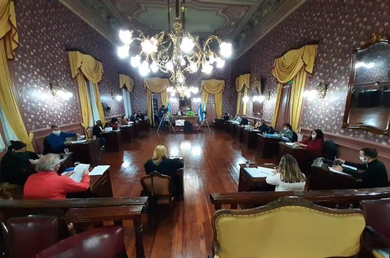 Los concejales realizaron una nueva sesión ordinaria