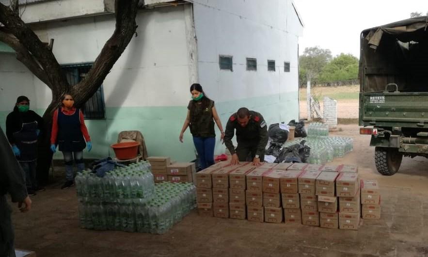 All Boys Solidario envió ayuda al Pedro Elizalde y a Salta