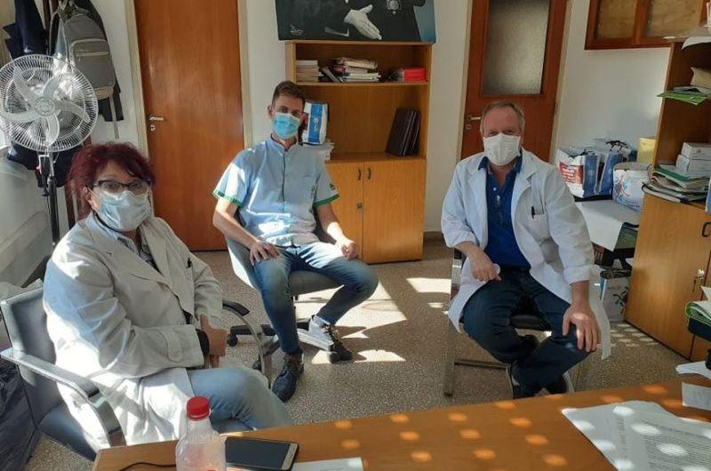Nuevas autoridades acompañan a Cassiani en el Hospital