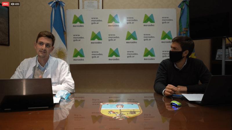 Coronavirus: «Estamos en transición hacia la transmisión comunitaria en Mercedes»