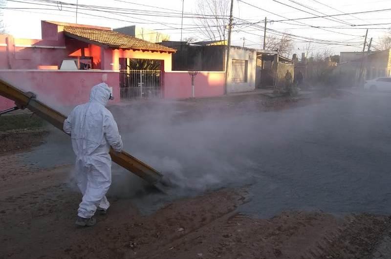 Avanzan obras de pavimentación en el barrio La Amistad
