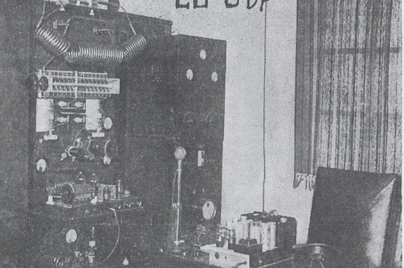 Las primeras transmisiones radiales de la ciudad fueron en la casa donde está el MAMM