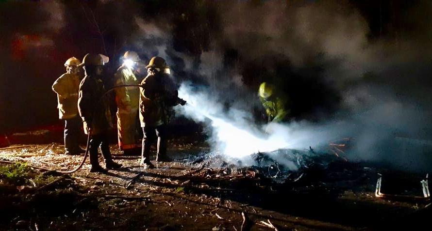 Bomberos: varias salidas por incendio de pasto