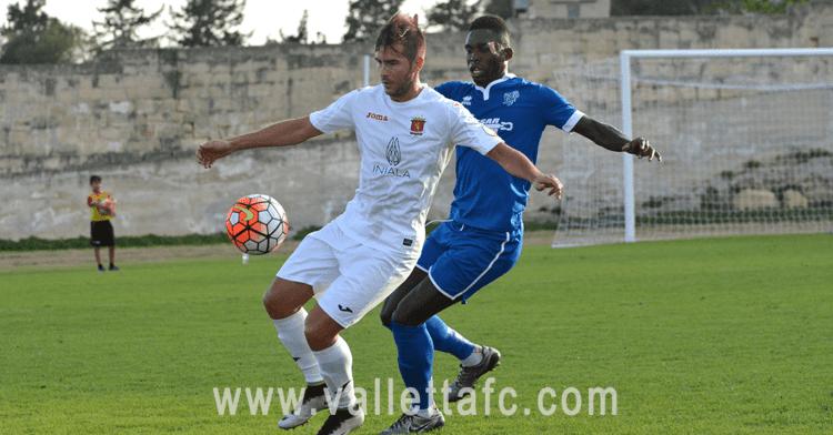 Santiago Malano fue titular en el amistoso Valletta FC, que ya tiene rival en la Europa League