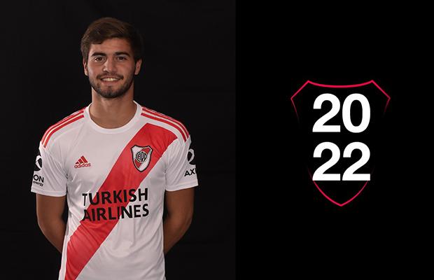 River Plate renovó el vínculo con Santiago Sosa hasta 2022 y lo blindó en 20 millones de euros