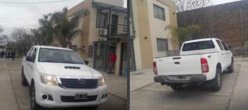 Dos aprehendidos por robo de vehículo en la vía pública