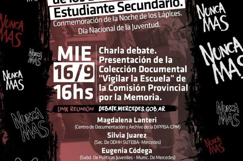 Debate virtual para conmemorar «La Noche de los Lápices»