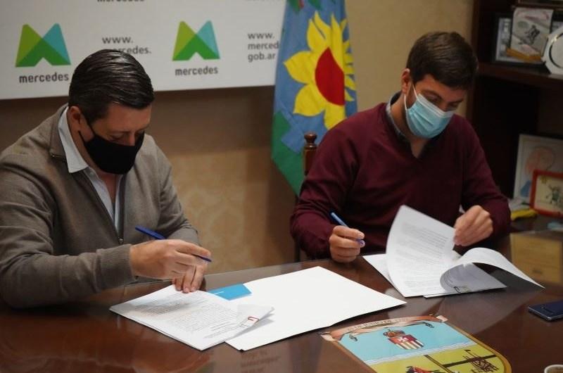 Municipio y ENOHSA firman convenio para obras hídricas