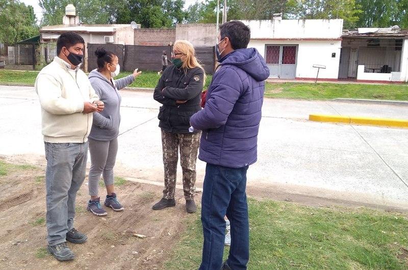 Vecinos del Barrio Unidad y Progreso denuncia la usurpación de la casa de otro vecino