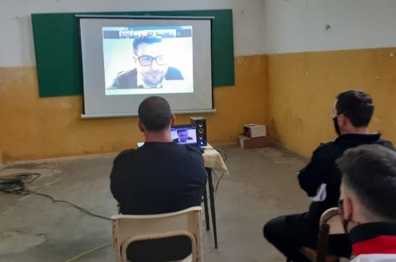 Inauguran tres pabellones literarios para promover la lectura y escritura en las cárceles bonaerenses