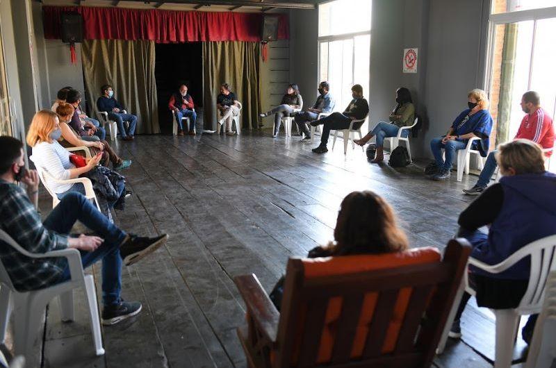 Encuentro de la Mesa local por la Memoria