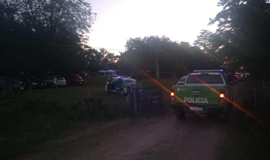 Municipio, Policía y Justicia desbaratan intento de fiesta electrónica ilegal en Tomás Jofré