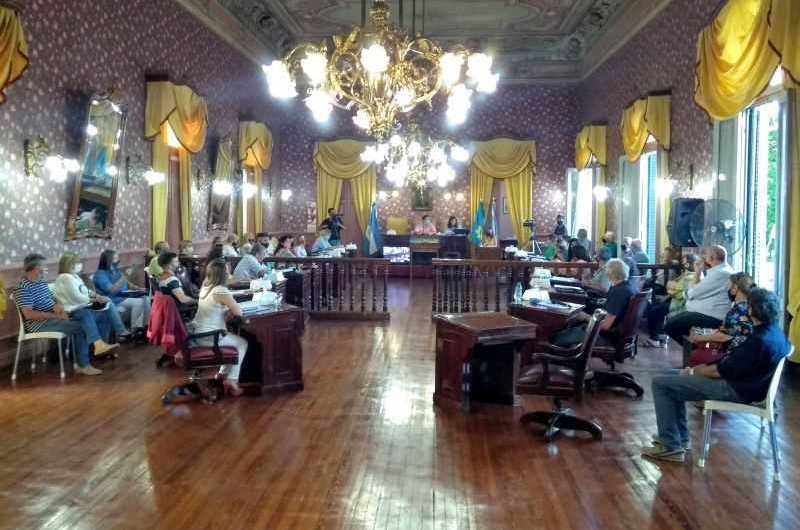 Asamblea Concejales y Mayores Contribuyentes aprobaron ordenanza impositiva 2021