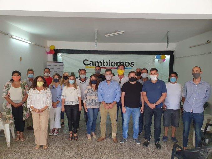 El PRO Mercedes inauguró su local con la presencia de Ritondo y Campbell
