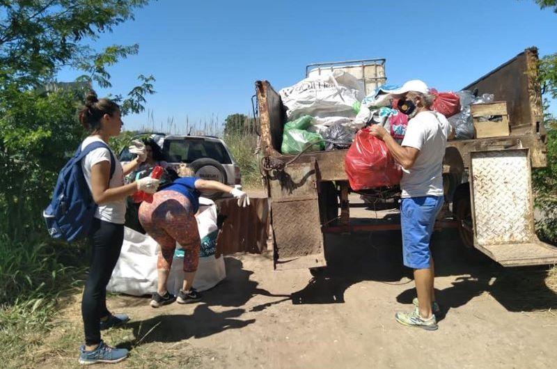 Nueva jornada de limpieza en el Arroyo Balta