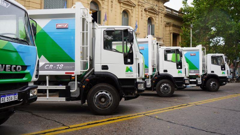 Municipio incorpora cinco camiones 0km