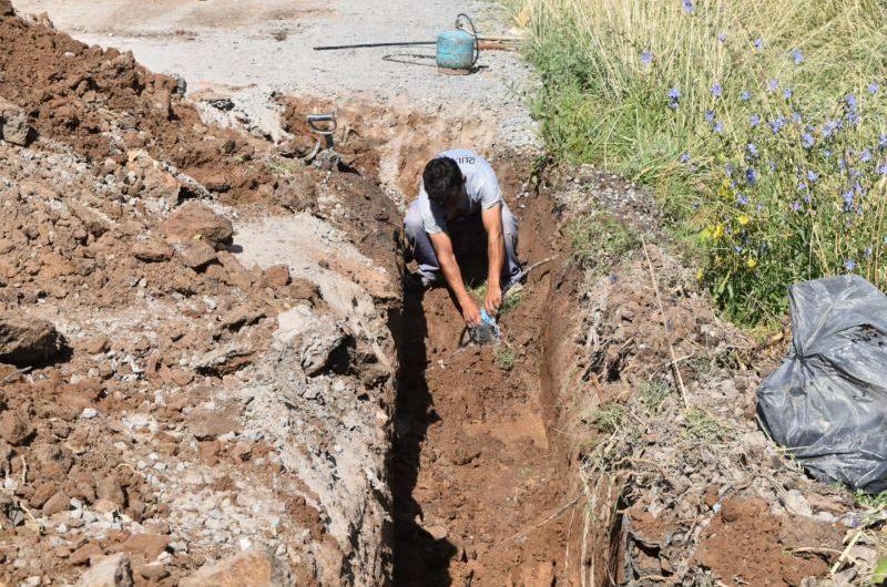 Tareas de reparación en el servicio de agua corriente