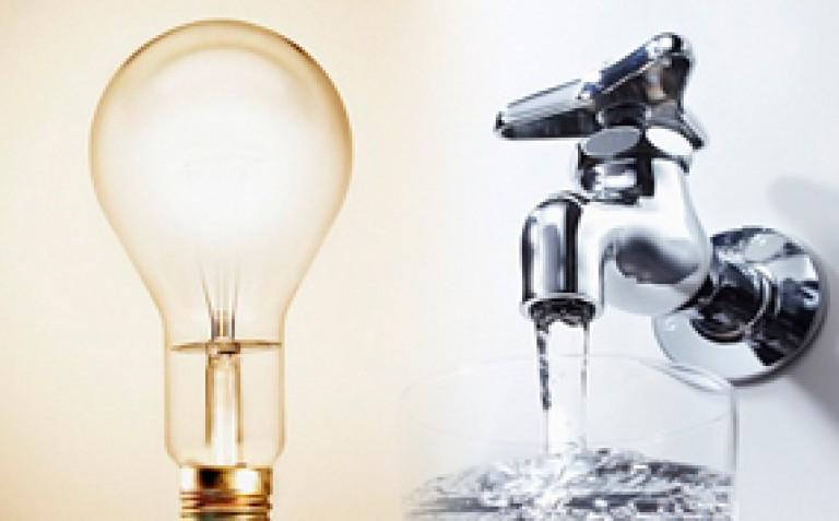 Comunicación oficial: cortes de luz y agua