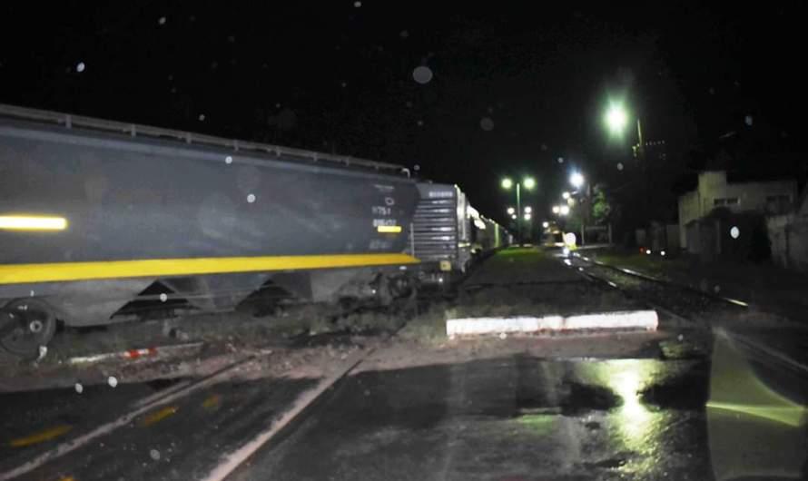 Descarrilamiento de tren de carga