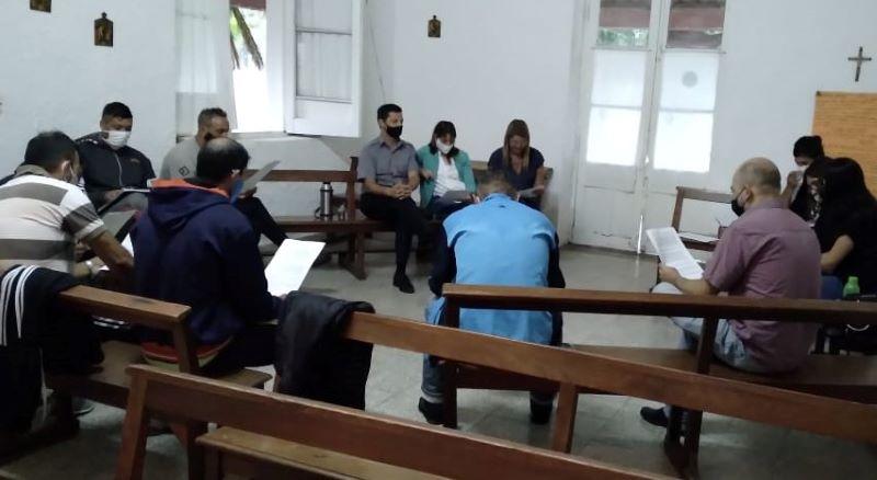Encuentro interdisciplinario en la cárcel de Mercedes