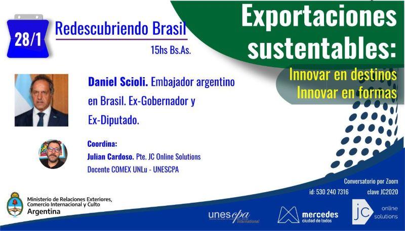 Organizan videoconferencias con embajadores argentinos